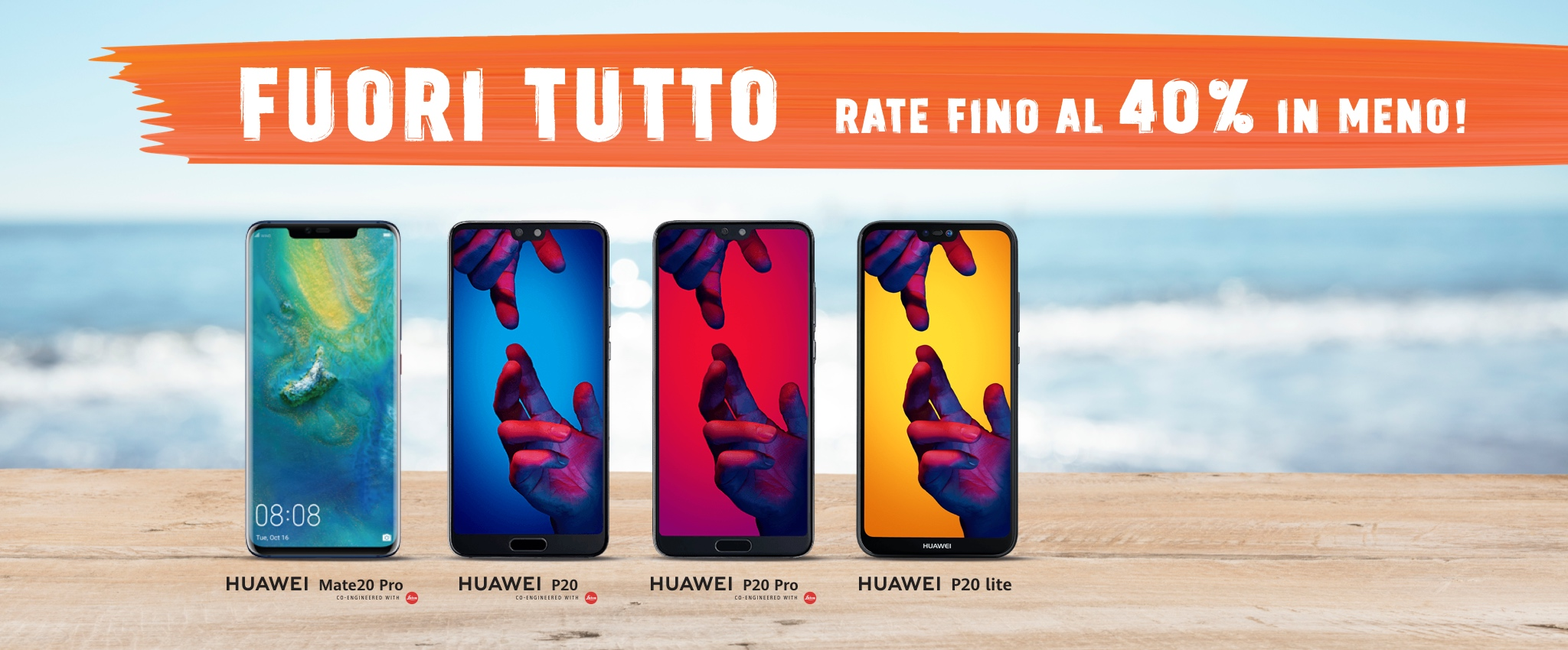 Huawei ti regala l'estate