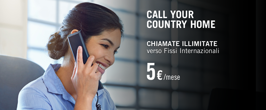 Call Your Country Home, Chiamate Internazionali Illimitate