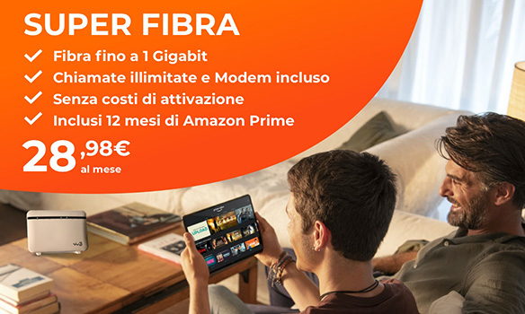 Internet a casa - Super Fibra - WINDTRE